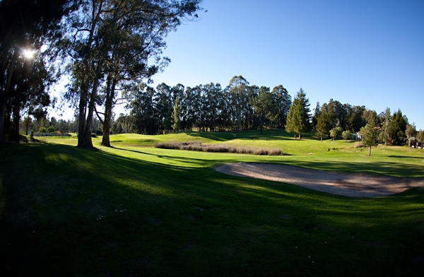 View of the course at Blacklake Golf Resort